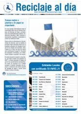 Boletín Reciclaje al Día nº 22, enero 2014