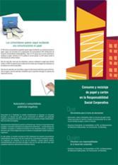 RSC: Consumo y reciclaje de papel y cartón en la Responsabilidad Social Corporativa