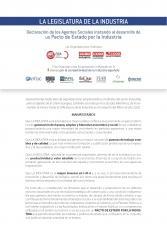 Declaración Pacto por la Industria
