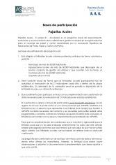 BASES DE PARTICIPACIÓN 2022 PAJARITAS AZULES